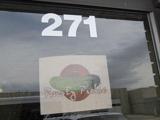 Rusty pickle - warehouse sale