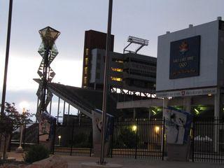 Utah - olympic cauldron