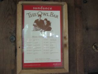 Sunday - owl bar