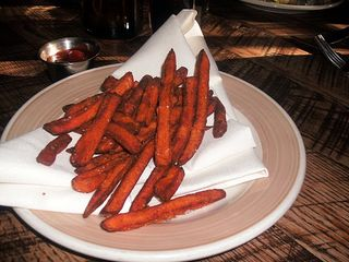 $6 sweet potato fries