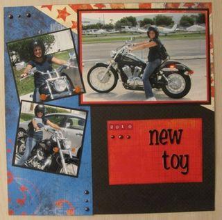 Motorcycle-Melissa -BoBunny Block Party