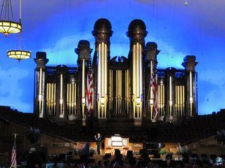 Temple square - organ
