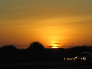 Sunset off Alligator Alley 2