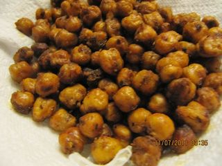 Roasted Chickpeas - my try