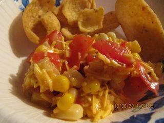Italian Corn Salsa - My Try